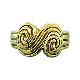 Tiffany & Co. 18K Yellow Gold Band Ring Size 4.5