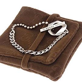 Gucci 925 Sterling Silver Chain Bracelet