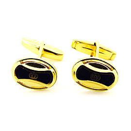 Gucci Gold Tone Hardware Cufflinks