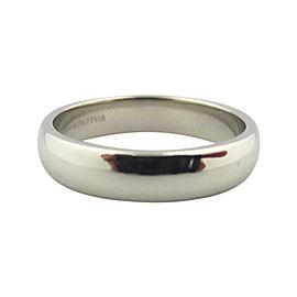 Tiffany & Co. Lucida Platinum Wedding Band Ring Size 5