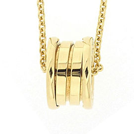 Bulgari B-zero1 18K Yellow Gold Necklace