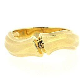 Cartier Bamboo Ring 18K Yellow Gold Size 5.75