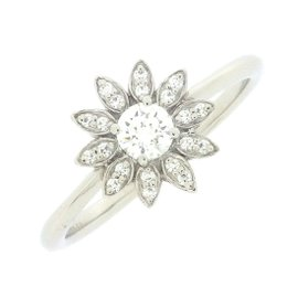 Tiffany & Co. PT950 Platinum with Diamond Ring Size 5.25