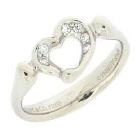 Tiffany & Co. PT950 Platinum with Diamond Ring Size 5