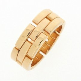 Cartier Panthere Ring 18K Rose Gold Size 7.5