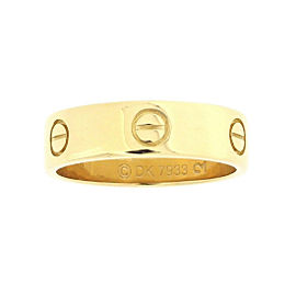 Cartier Love Ring 18K Yellow Gold Size 8.5