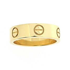 Cartier Love Ring 18K Yellow Gold Size 5.75