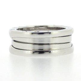 Bulgari B-Zero1 18k White Gold Ring Size 5.75