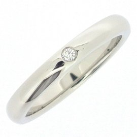 Tiffany & Co. PT950 Platinum and Diamond Ring Size 6.5