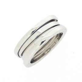 Bulgari B-Zero 1 18K White Gold Ring Size 6.5