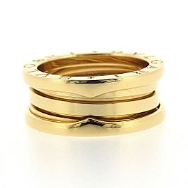Bulgari B-Zero 1 18K Yellow Gold Ring Size 5.5