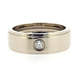 Cartier Fortune Ring 18K White Gold with Diamond Size 11.25