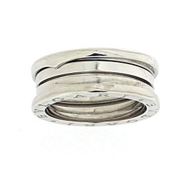 Bulgari B-Zero 1 18K White Gold Ring Size 8.25