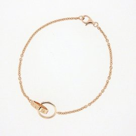 Cartier Baby Love Bracelet 18K Rose Gold