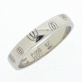 Cartier Happy Birthday Ring PT950 Platinum Size 9.75