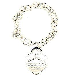 Tiffany & Co. Return to Tiffany 925 Sterling Silver Heart Tag Bracelet
