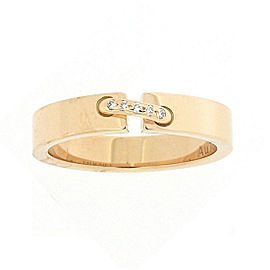 Chaumet Liens Evidence 18K Rose Gold with Diamond Ring Size 5.75