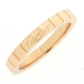Cartier Lanieres Ring 18K Rose Gold Size 7.75