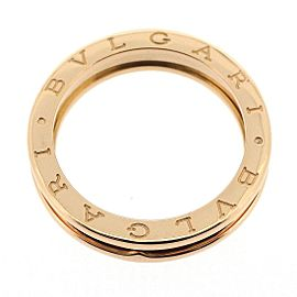 Bulgari B-zero1 18K Rose Gold Ring Size 9.5