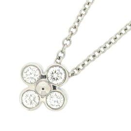 Tiffany & Co. 950 Platinum with Diamond Necklace
