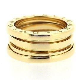 Bulgari B-zero1 18K Yellow Gold Ring Size 5.75