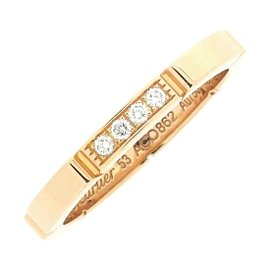 Cartier Maillon Panthere Ring 18K Rose Gold with Diamond Size 6.5