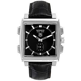 Tag Heuer Monaco Sixty-Nine Steel Manual Quartz Mens Watch CW9110