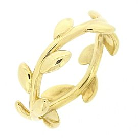 Tiffany & Co. Paloma Picasso 18K Yellow Gold Reef Ring Size 5