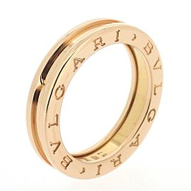 Bulgari B.zero1 18K Rose Gold Ring Size 8