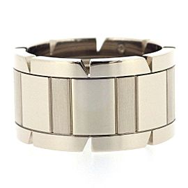 Cartier Tank Francaise Ring 18K White Gold Size 6.25