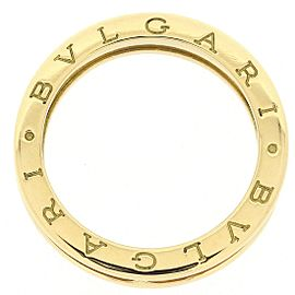 Bulgari B.zero1 18K Yellow Gold Ring Size 8.5