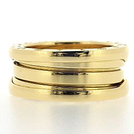 Bulgari B-Zero 1 18K Yellow Gold Ring Size 4.5