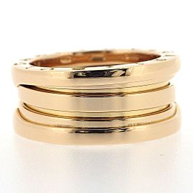 Bulgari Bzero.1 18K Rose Gold Ring Size 5.5