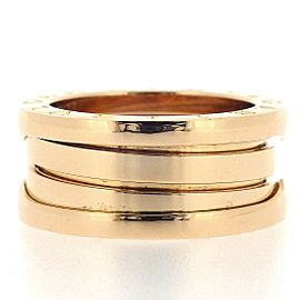 Bulgari B.zero1 18K Rose Gold Ring Size 4