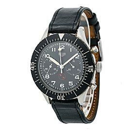 Heuer Bundeswehr 6645-12-146-3774 Vintage 43mm Mens Watch