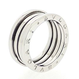 Bulgari B.zero1 18K White Gold Ring Size 8
