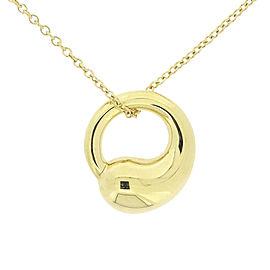 Tiffany & Co. Elsa Peretti 18K Yellow Gold Eternal Necklace