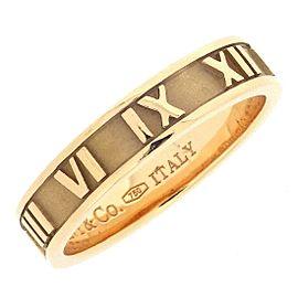 Tiffany & Co. Atlas 18K Rose Gold Narrow Ring Size 5