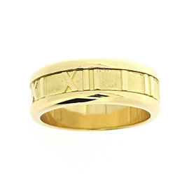Tiffany & Co. Atlas 18K Yellow Gold Ring Size 6.25