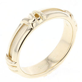 Tiffany & Co. Atlas 18K Yellow Gold Numeric Ring Size 5.25