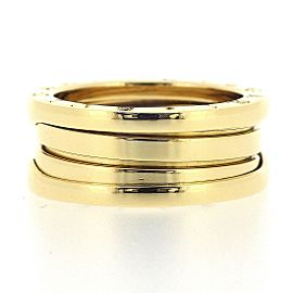 Bulgari B-Zero 1 18K Yellow Gold Ring Size 6.5