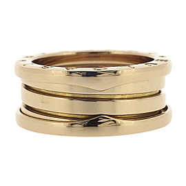 Bulgari B.zero1 18K Rose Gold Ring Size 6