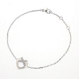 Chaumet 18K White Gold Diamond Bracelet