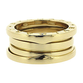 Bulgari B.zero1 18K Yellow Gold Ring Size 4.75