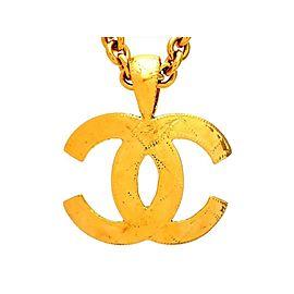 Chanel CC Gold Tone Vintage Necklace
