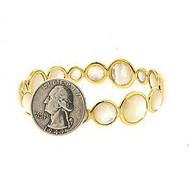 Ippolita Lollipop 18K Yellow Gold Mother Of Pearl, Pearl Bracelet