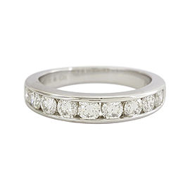 Tiffany & Co. Platinum Diamond Wedding Ring Size 5
