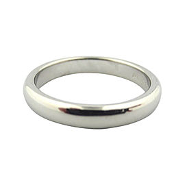 Tiffany & Co. Lucida Platinum Wedding Ring Size 6.5