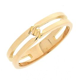 Gucci 18K Rose Gold Ring Size 5.75