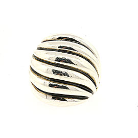 David Yurman Cable Sterling Silver Ring Size 6.75